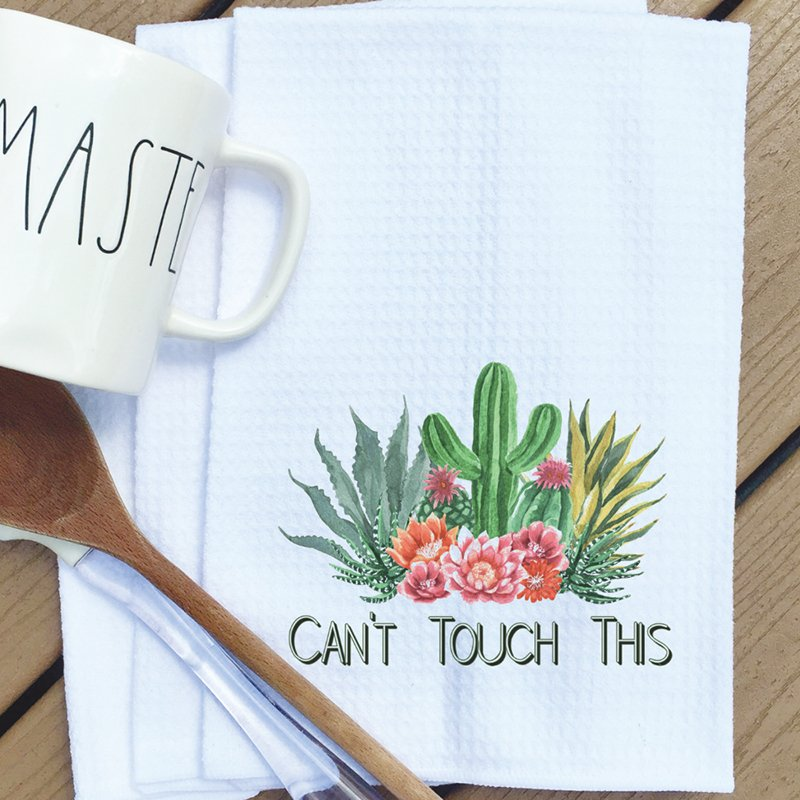 Tea towel can't touch this