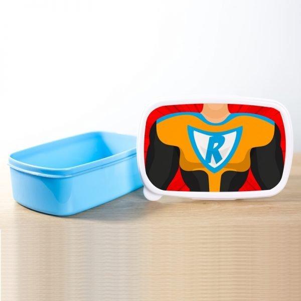 Lunchbox superhero boy
