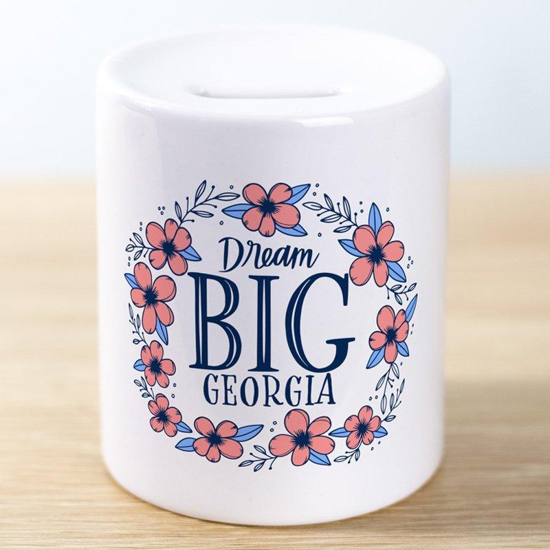 Money jar dream big boy