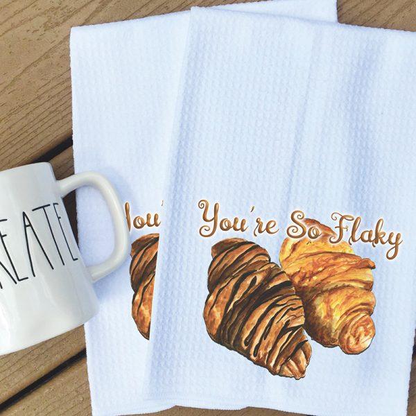 Tea Towel - You hold the Kiwi to my heart